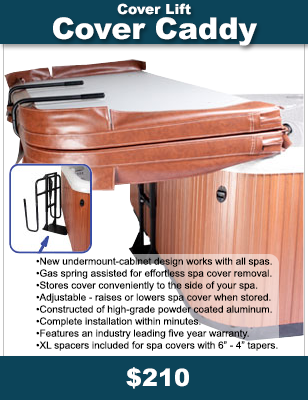 Add a Cover Caddy - Spa Cover Lift