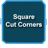 Spa Cover - Square with Cut Corners