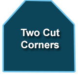 Two Cut Corner - Spa Covers
