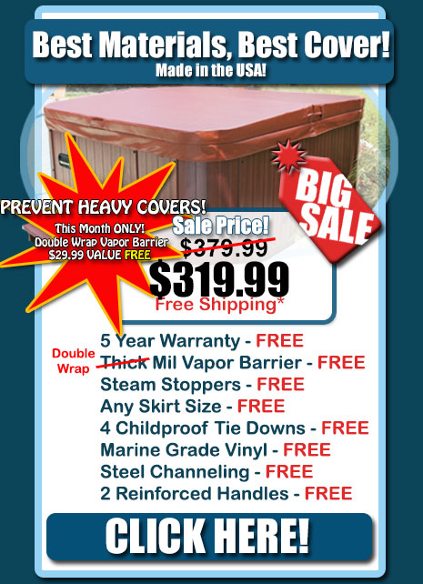 Hot Tub Covers - HUGE SALE
