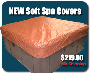 new soft spa cover hot tub