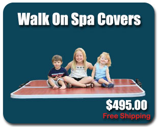 Walk On Hot Tub Cover