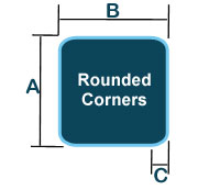 Hot Tub Cover Rounded Corners