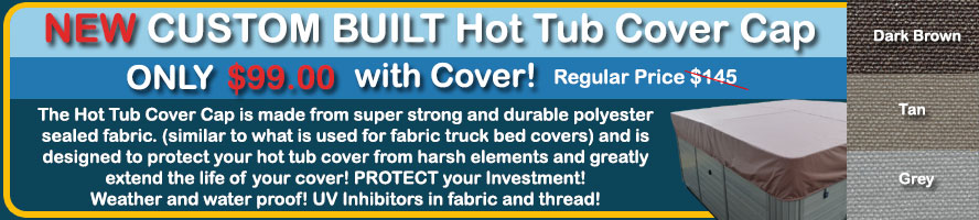 Hot Tub Cover Cap